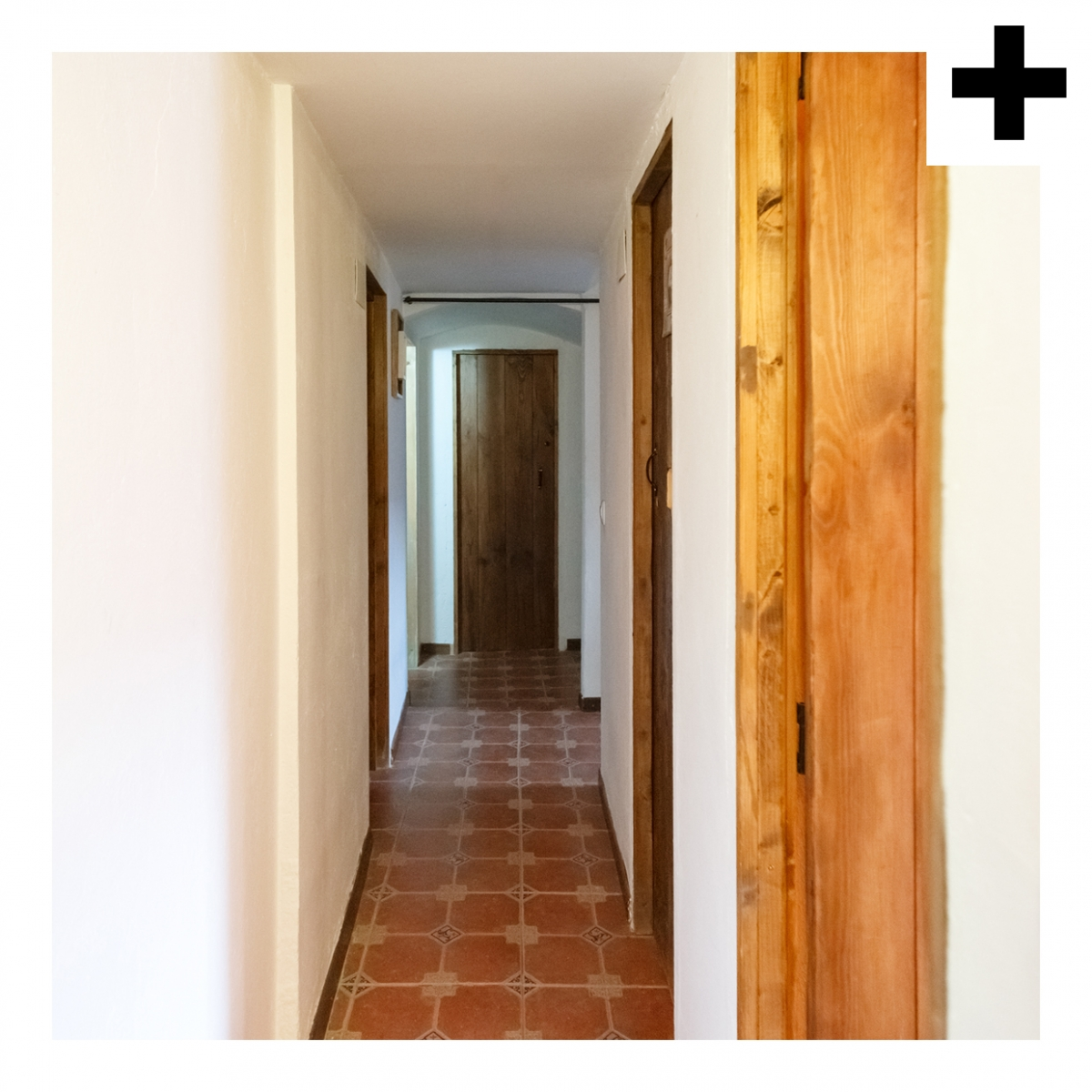 Imagen en la que se ve el plural del concepto pasillo