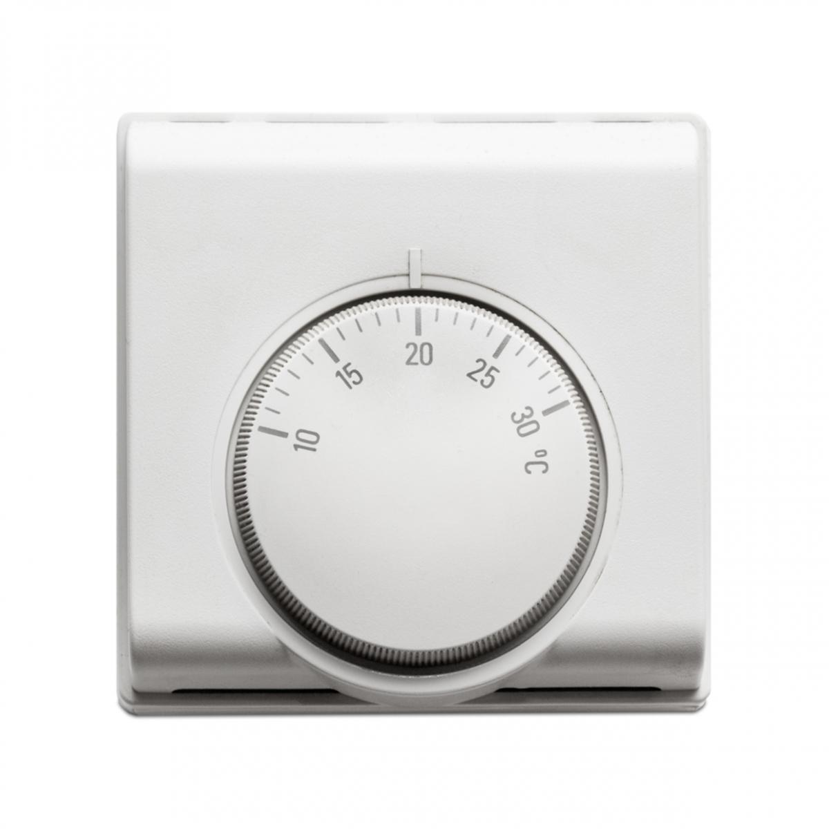 Imagen en la que se ve un termostato