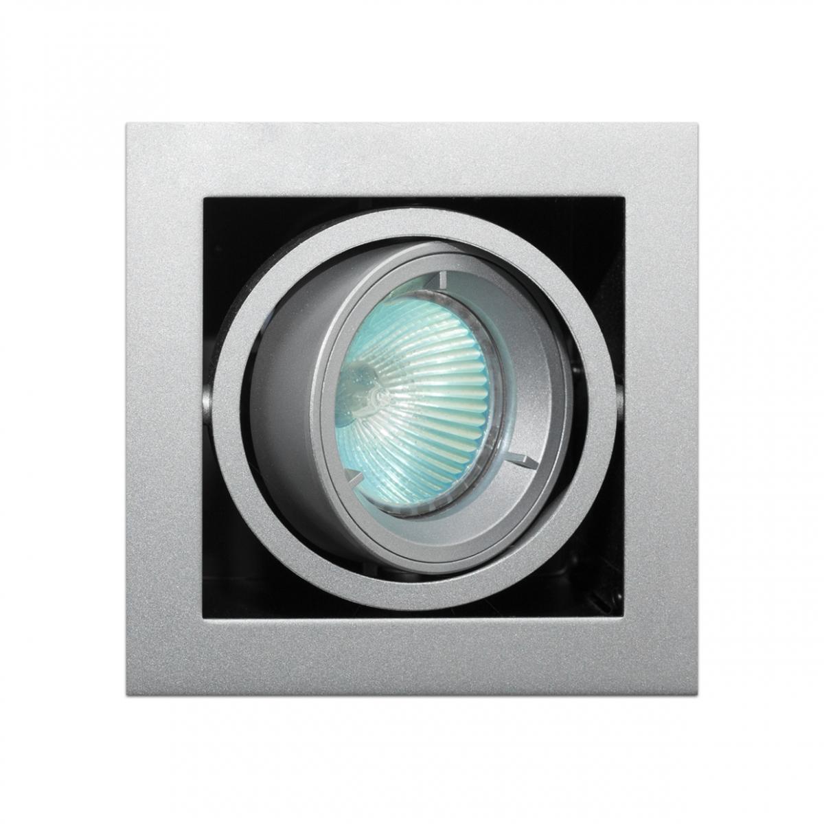 Imagen en la que se ve un foco halógeno