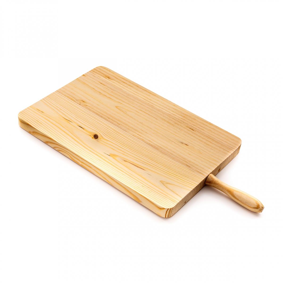 Imagen en la que se ve una tabla de madera para la cocina