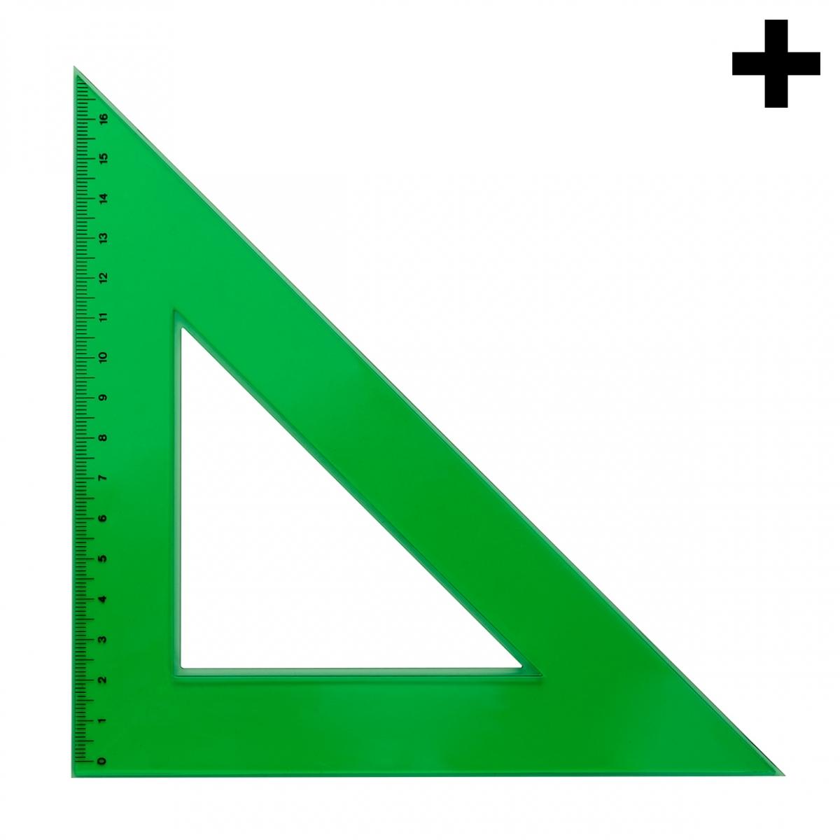 Imagen en la que se ve el plural del concepto escuadra
