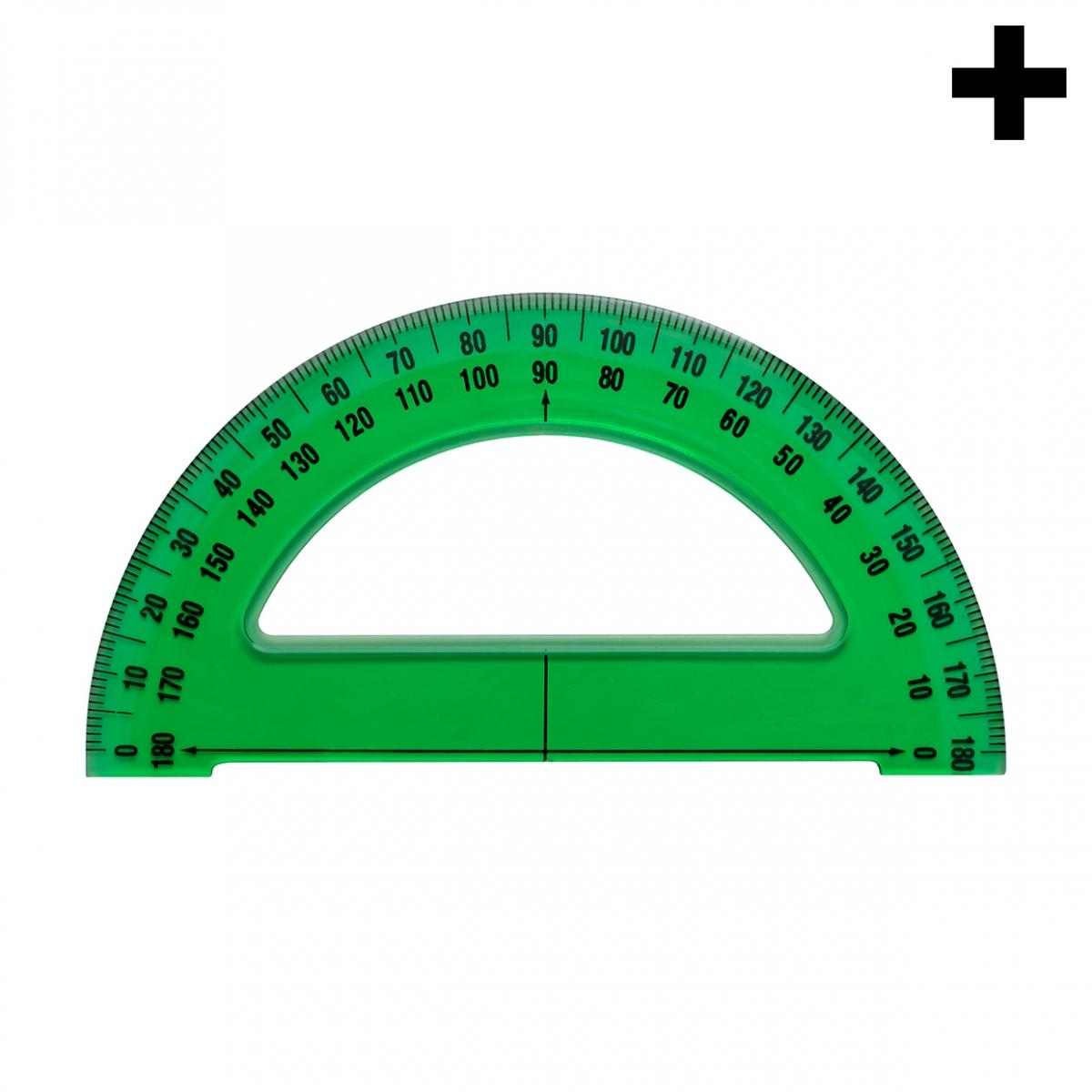 Imagen en la que se ve el plural del concepto regla semicírculo
