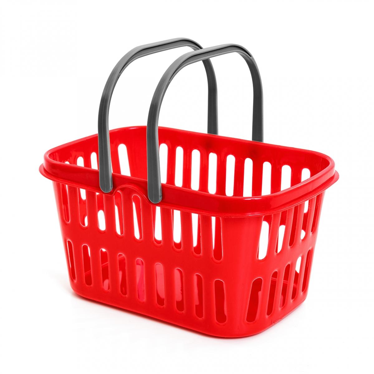 Imagen en la que se ve una cesta de la compra