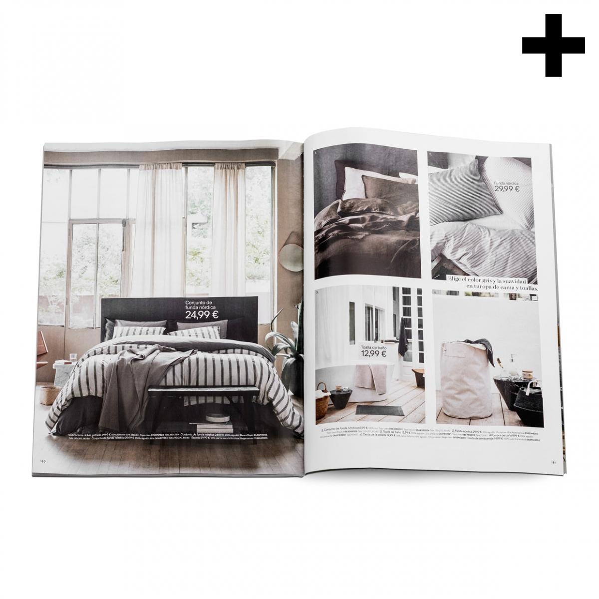 Imagen en la que se ve el plural del concepto revista de decoración