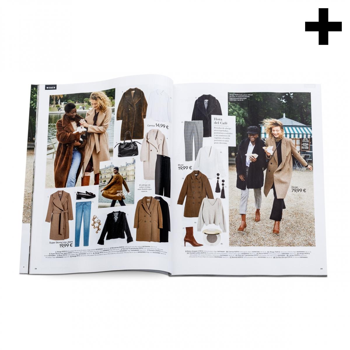 Imagen en la que se ve el plural del concepto catálogo de ropa