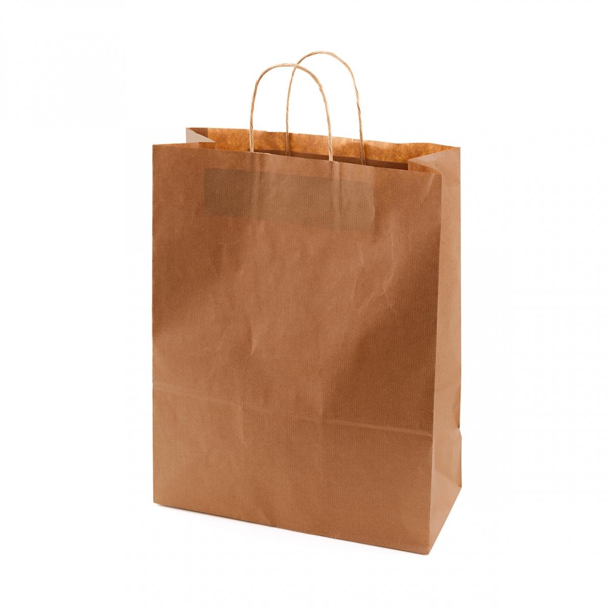 Imagen en la que se ve una bolsa de papel