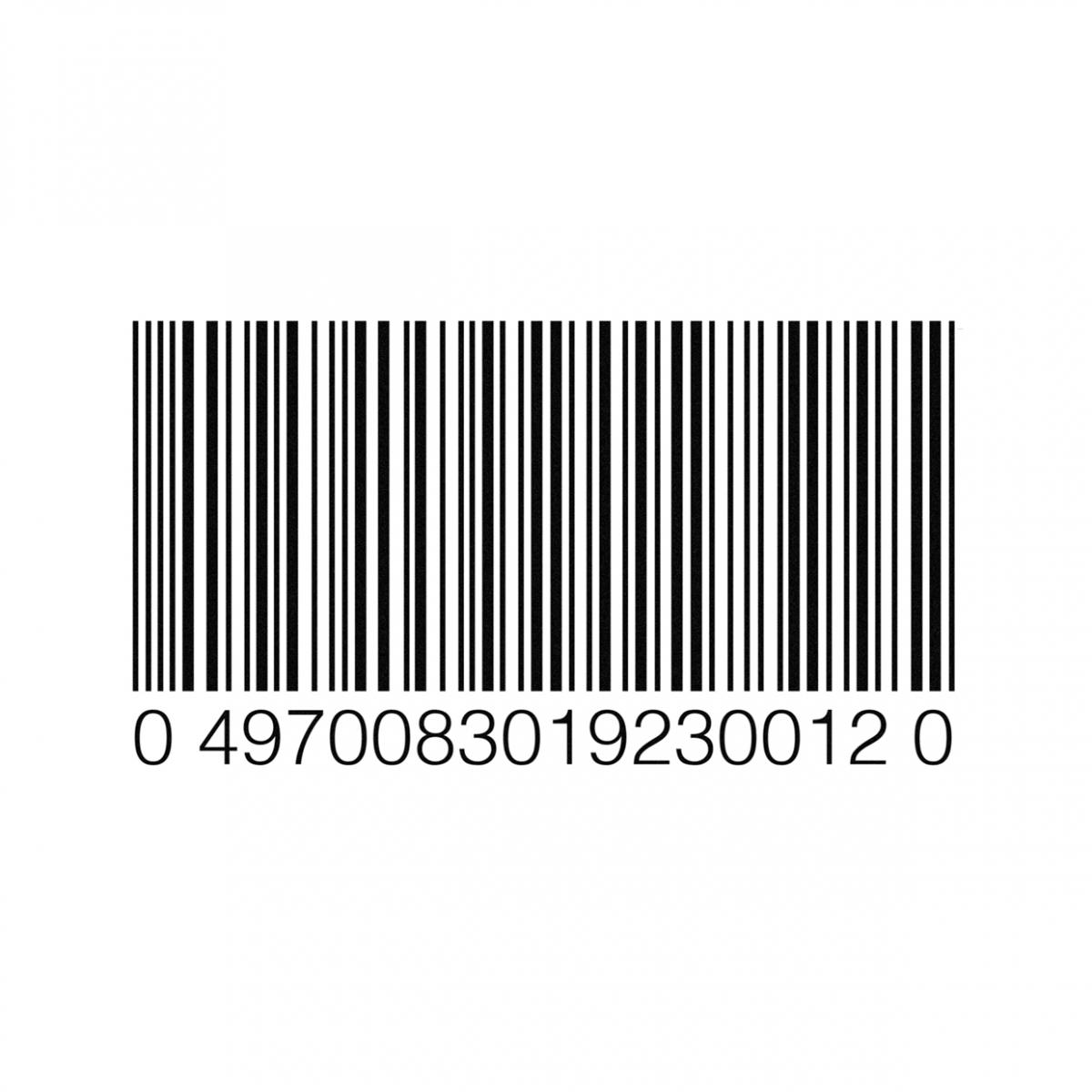 Imagen en la que se ve un código de barras
