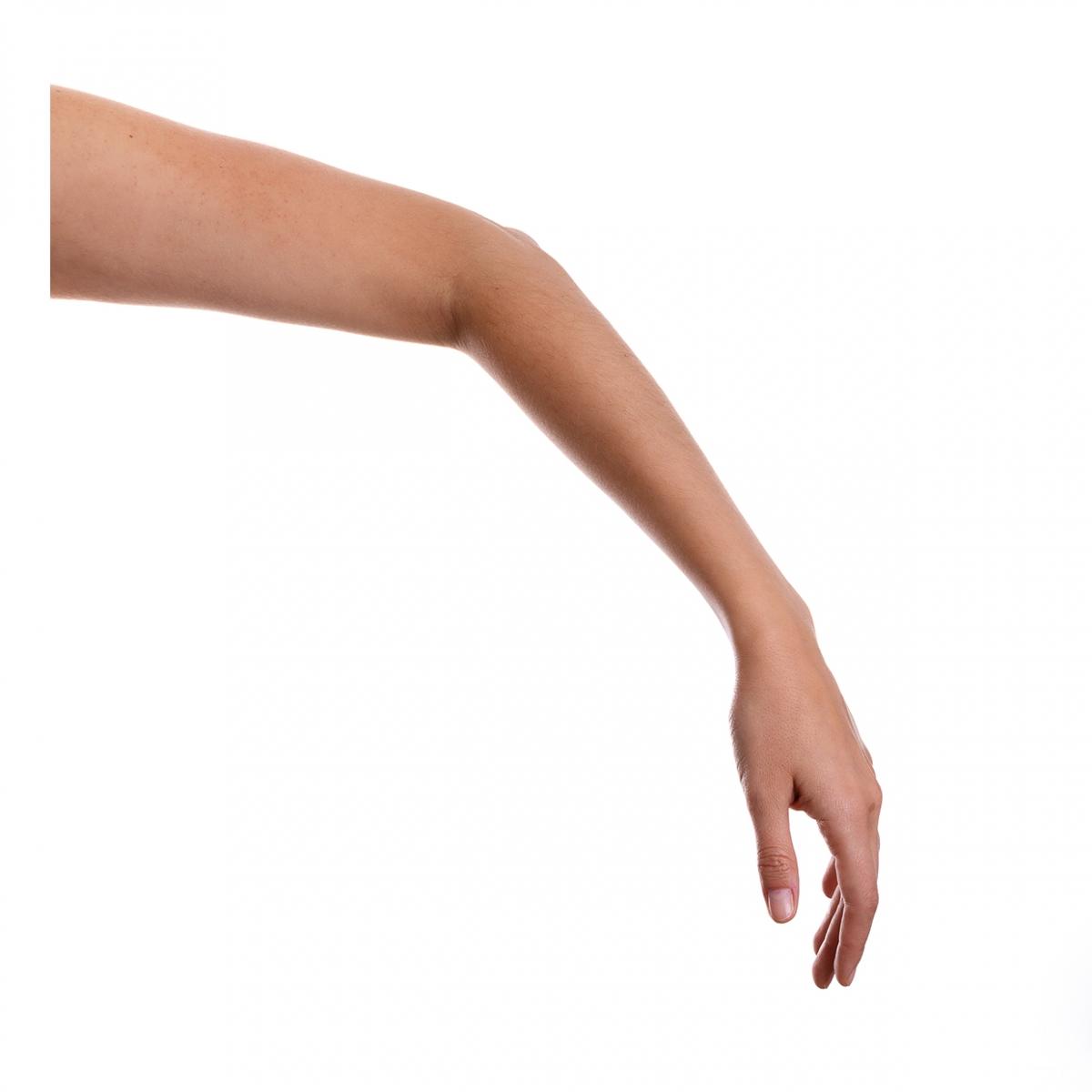 Imagen en la que se ve un brazo humano