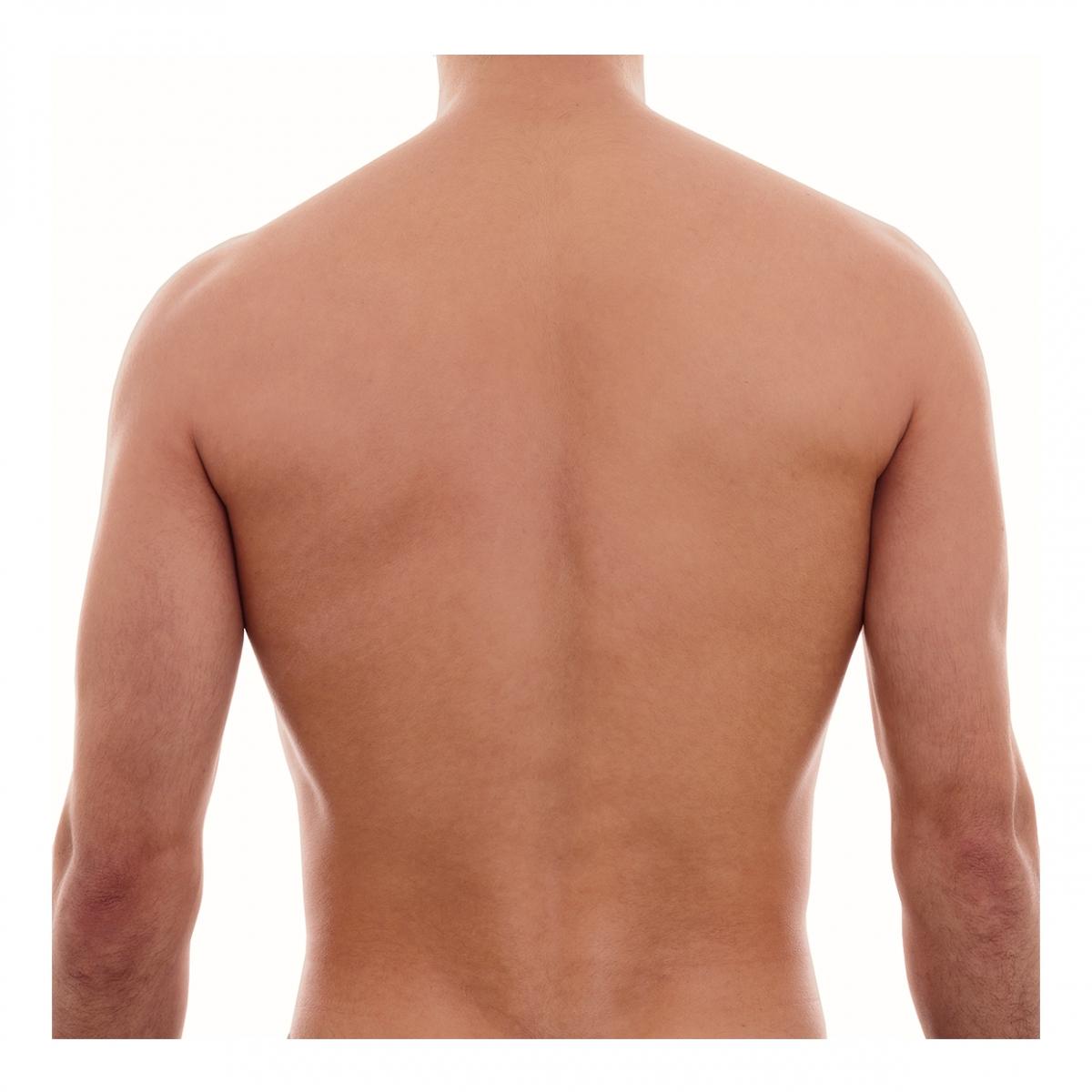 Imagen en la que se ve una espalda humana