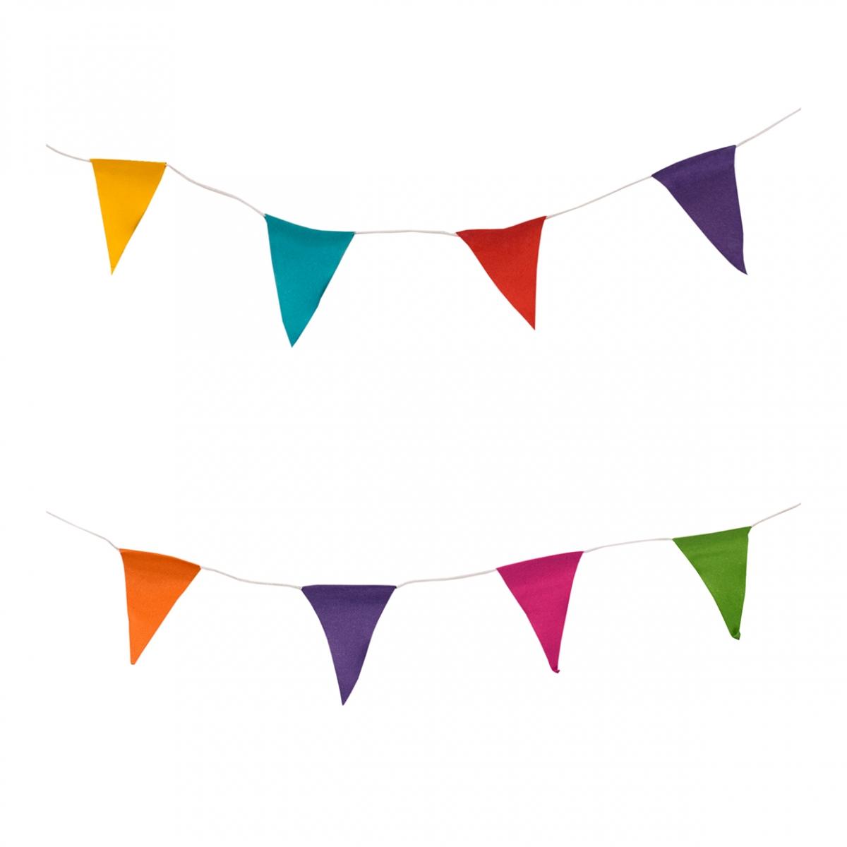 Imagen en la que se ven varios banderines