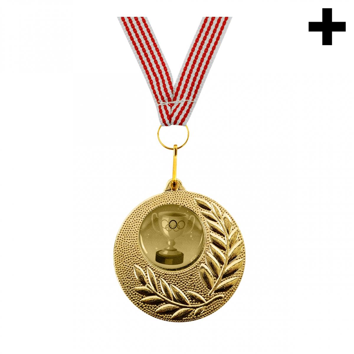 Imagen en la que se ve el plural del concepto medalla de oro