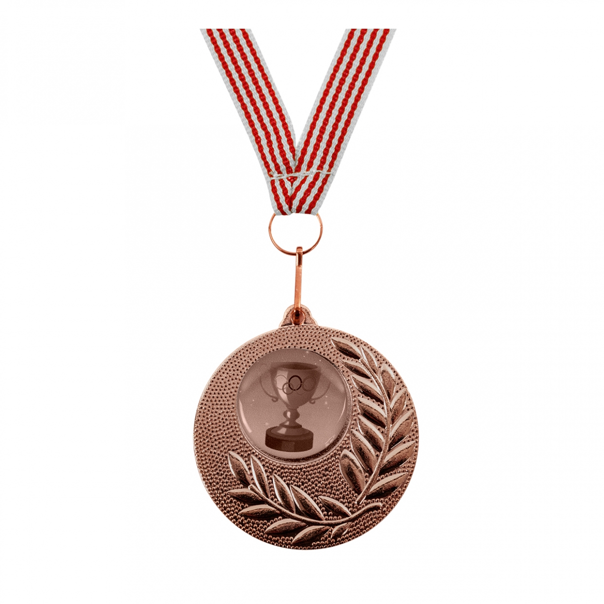 Imagen en la que se ve una medalla de bronce