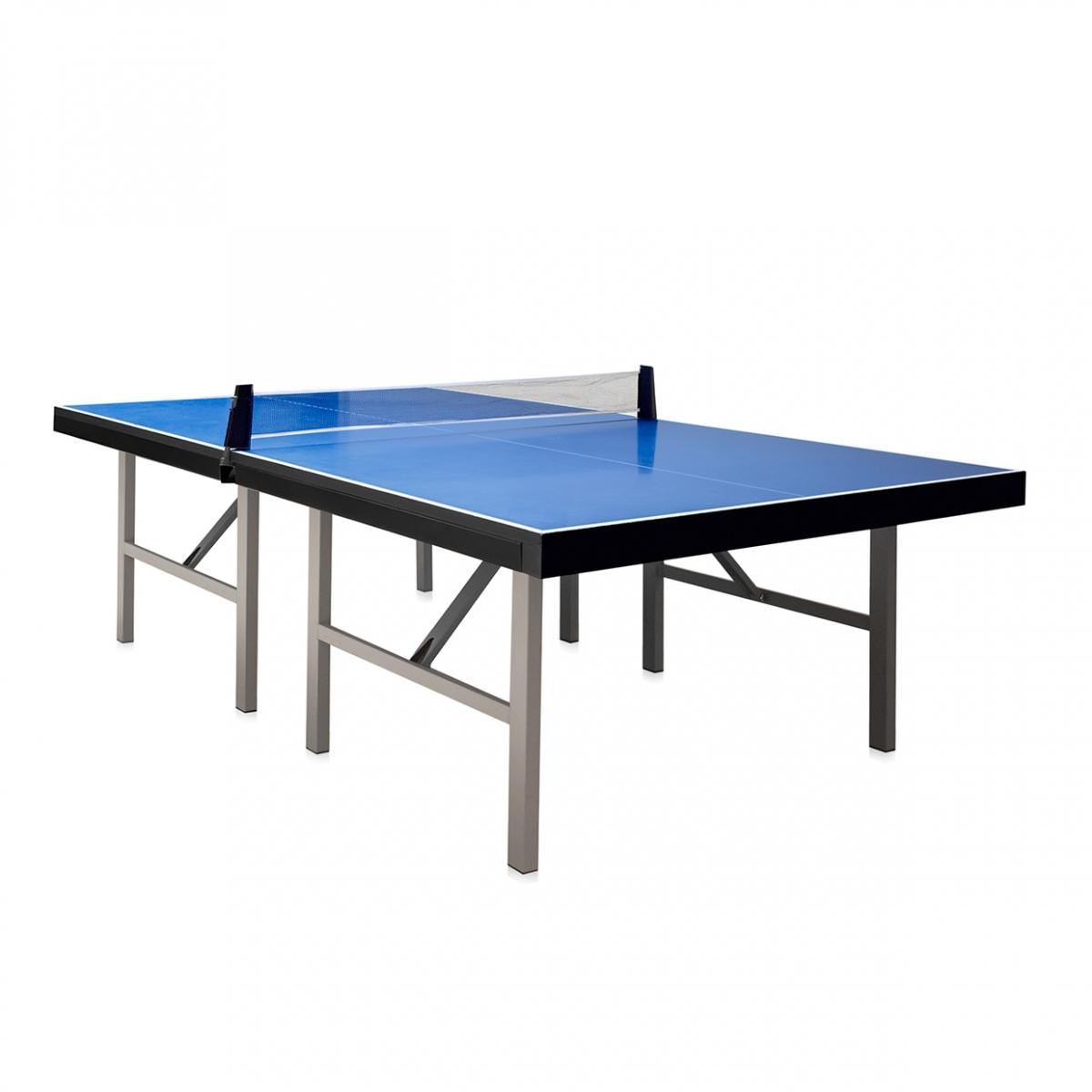 Imagen en la que se ve una mesa de ping pong