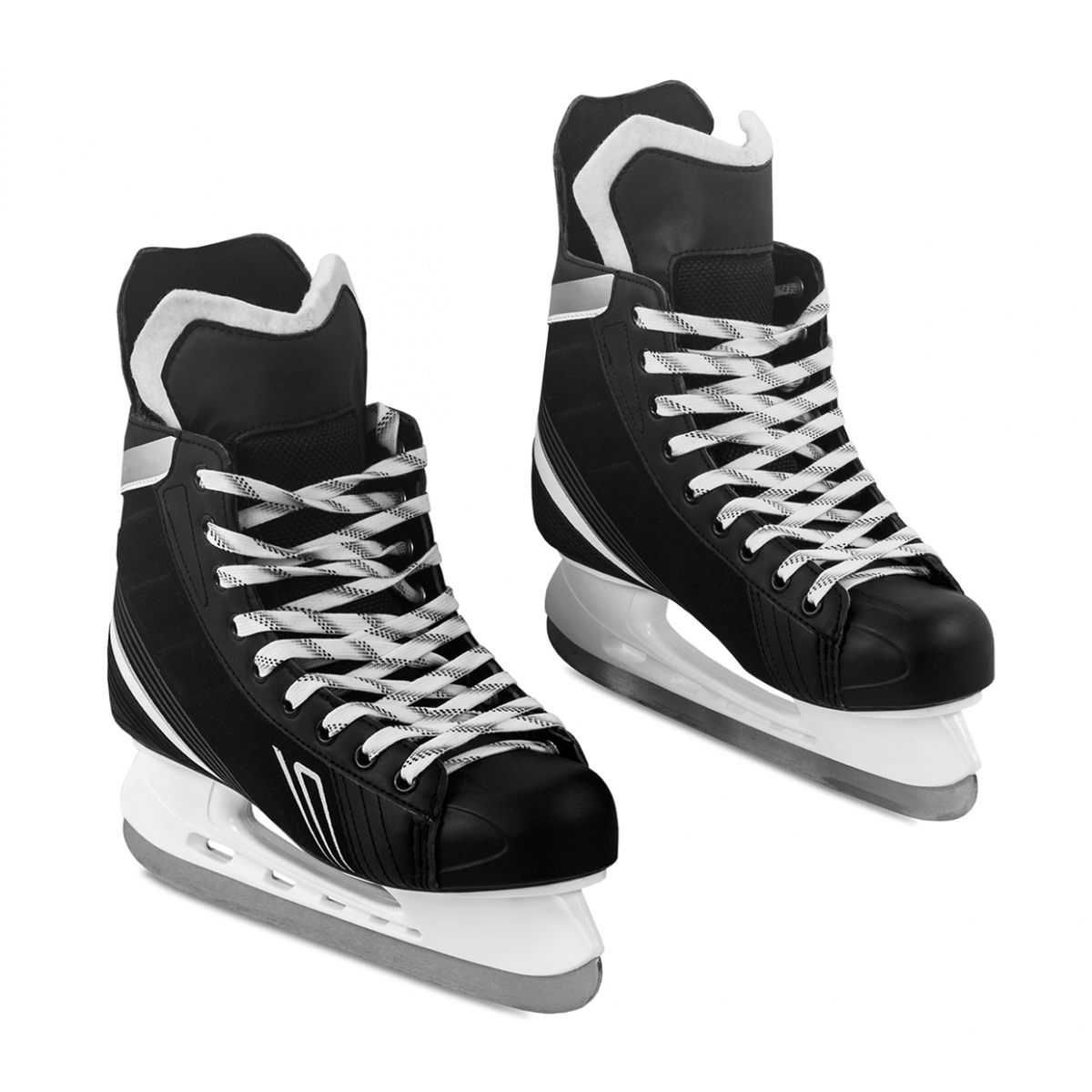 Imagen en la que se ven un par de patines de hielo
