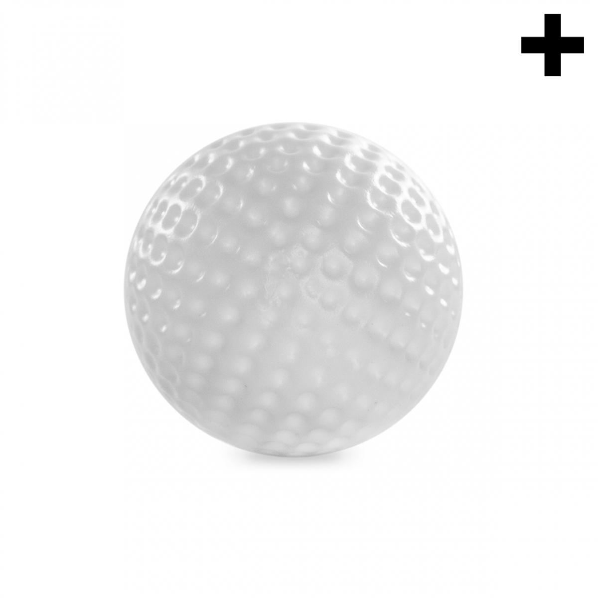 Imagen en la que se ve el plural del concepto pelota de golf
