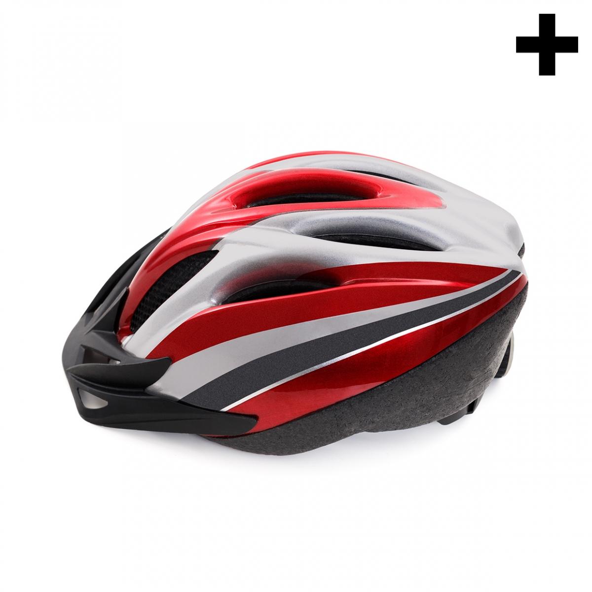 Imagen en la que se ve el plural del concepto casco de ciclista
