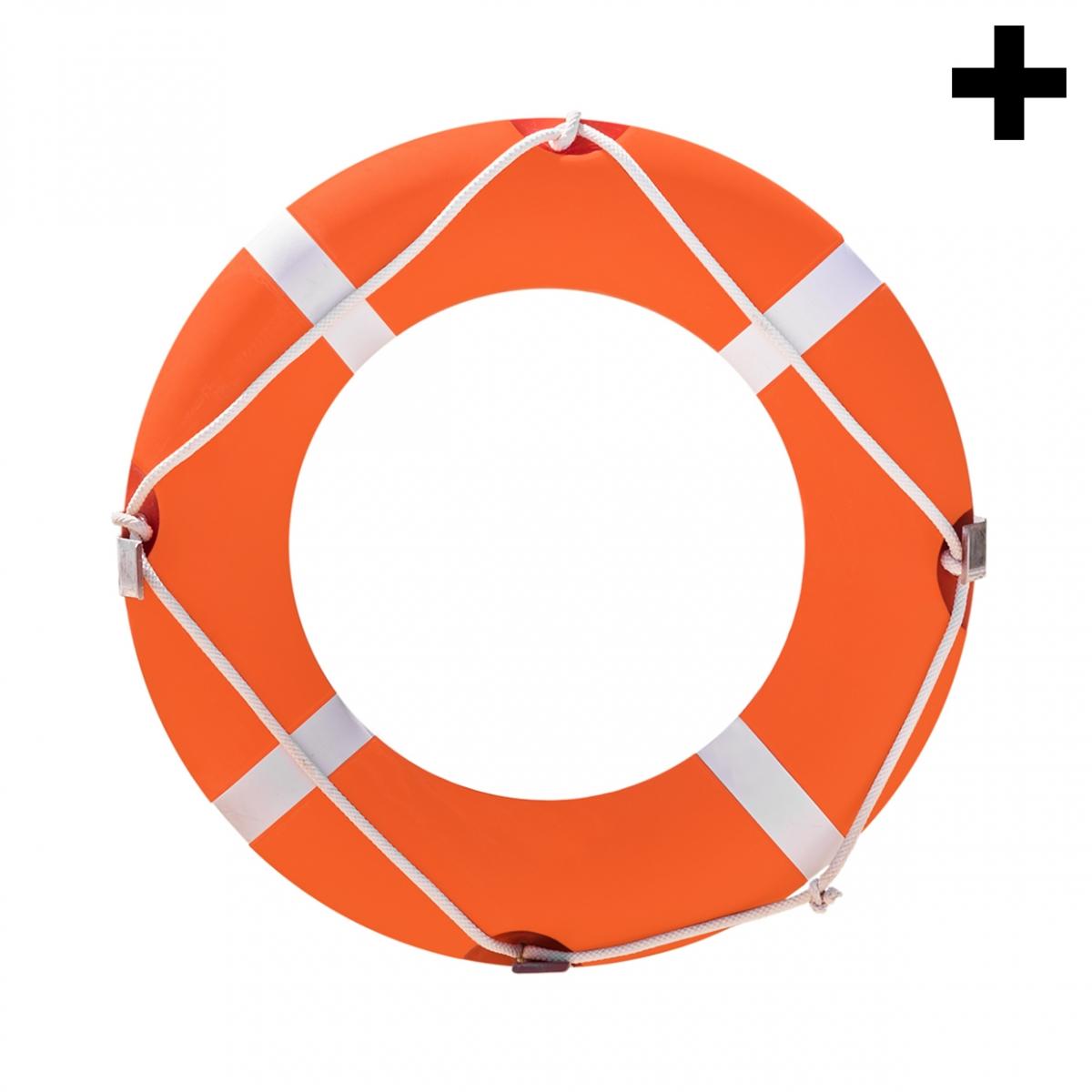 Imagen en la que se ve el plural del concepto flotador salvavidas