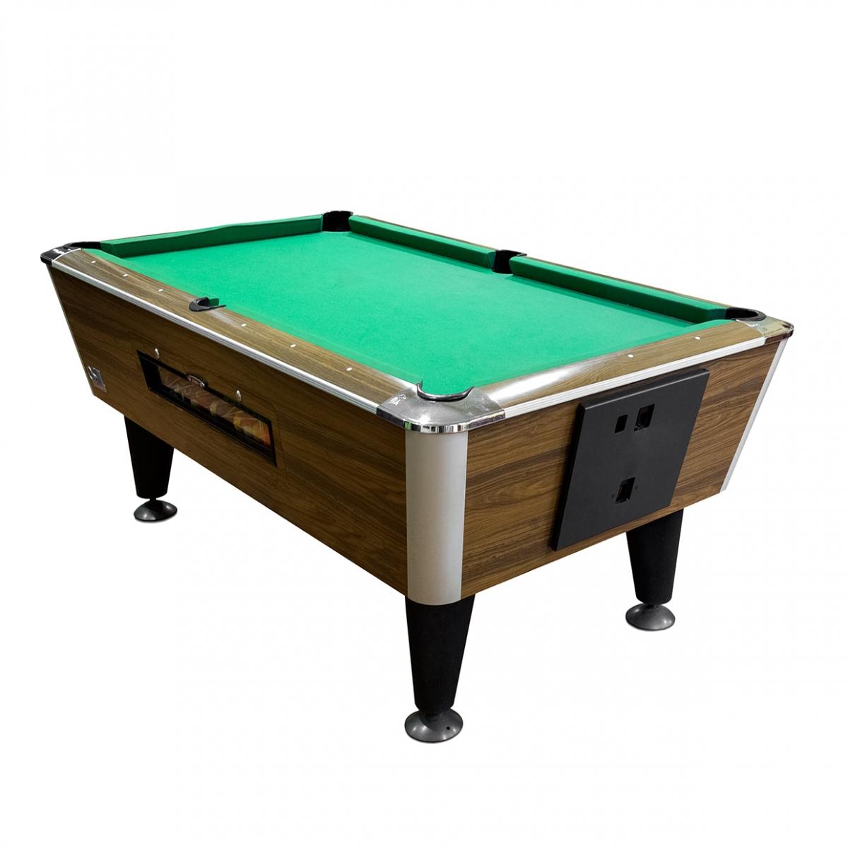 Imagen en la que se ve una mesa de billar