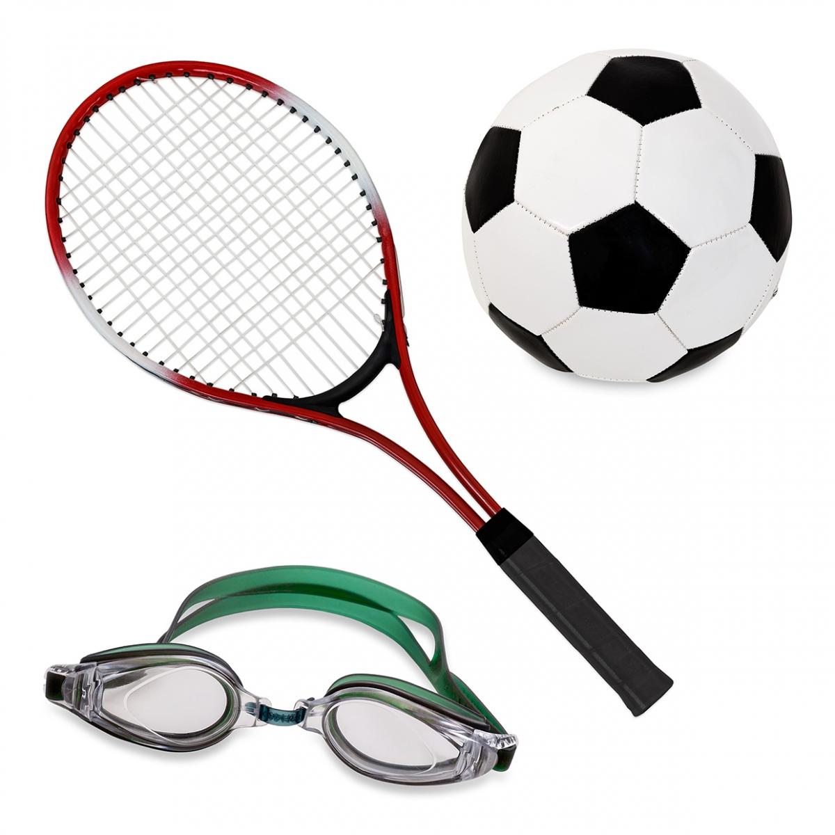 Imagen en la que aparece el concepto genérico de deporte