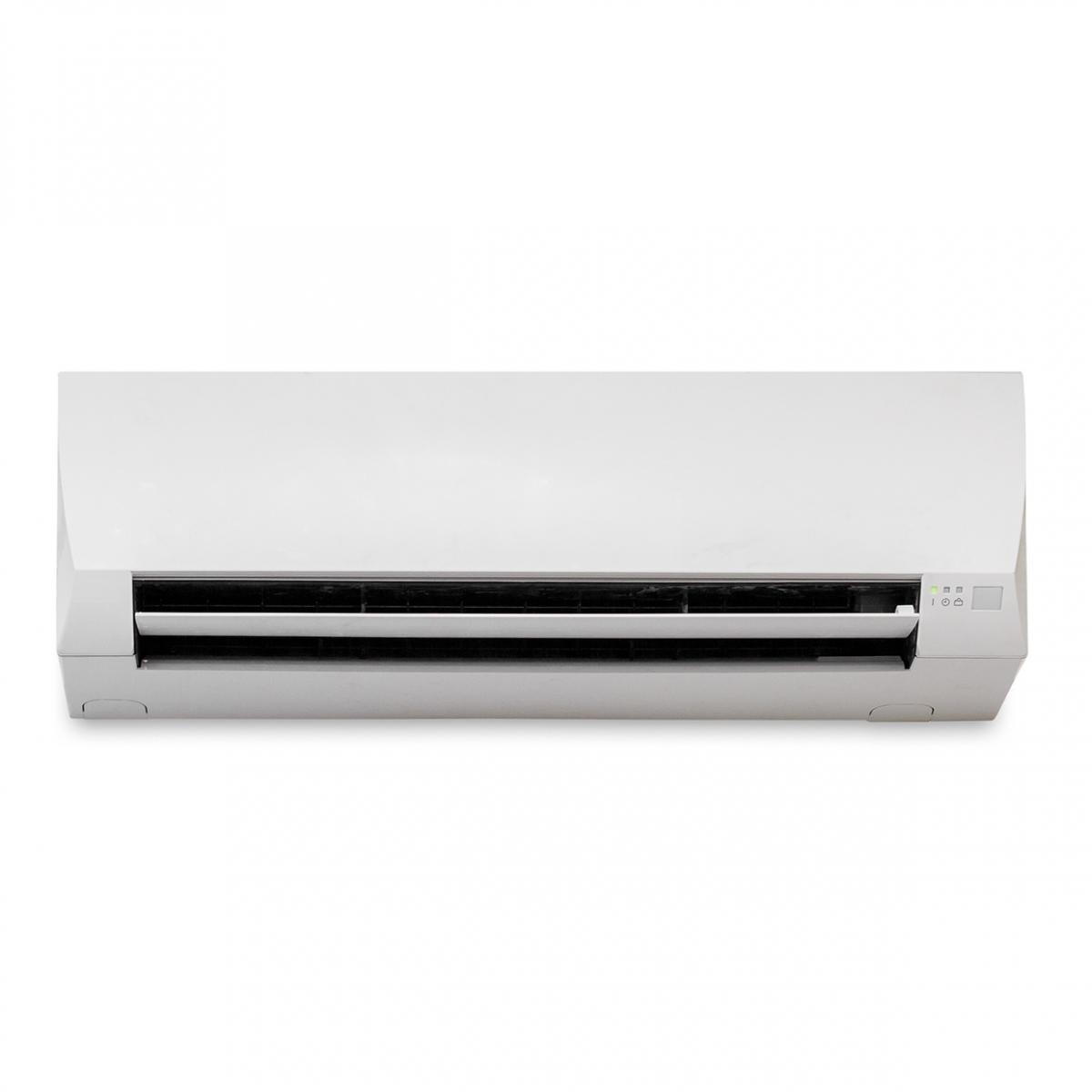 Imagen en la que se ve una máquina de aire acondicionado