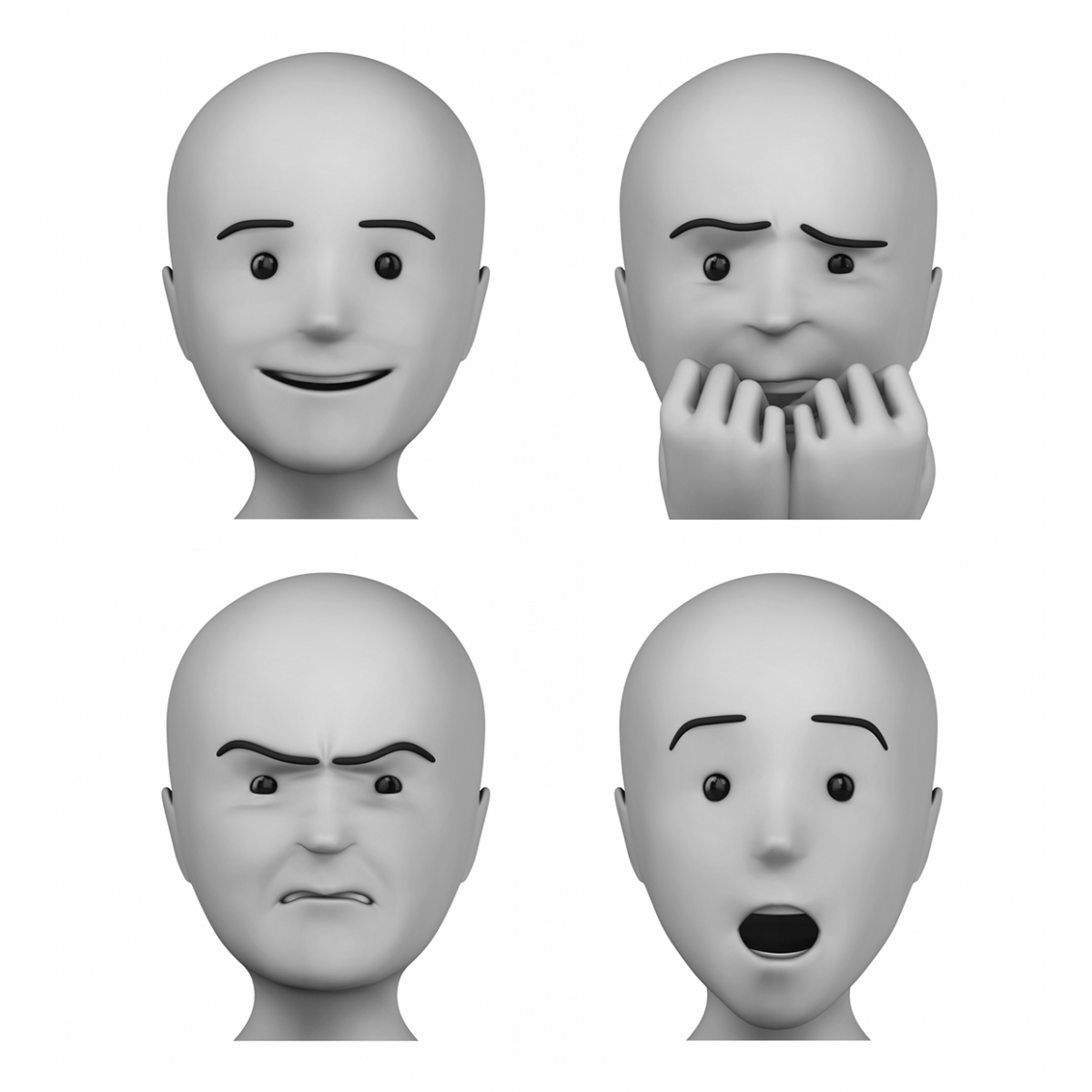 Imagen en la que aparece el concepto genérico de emociones