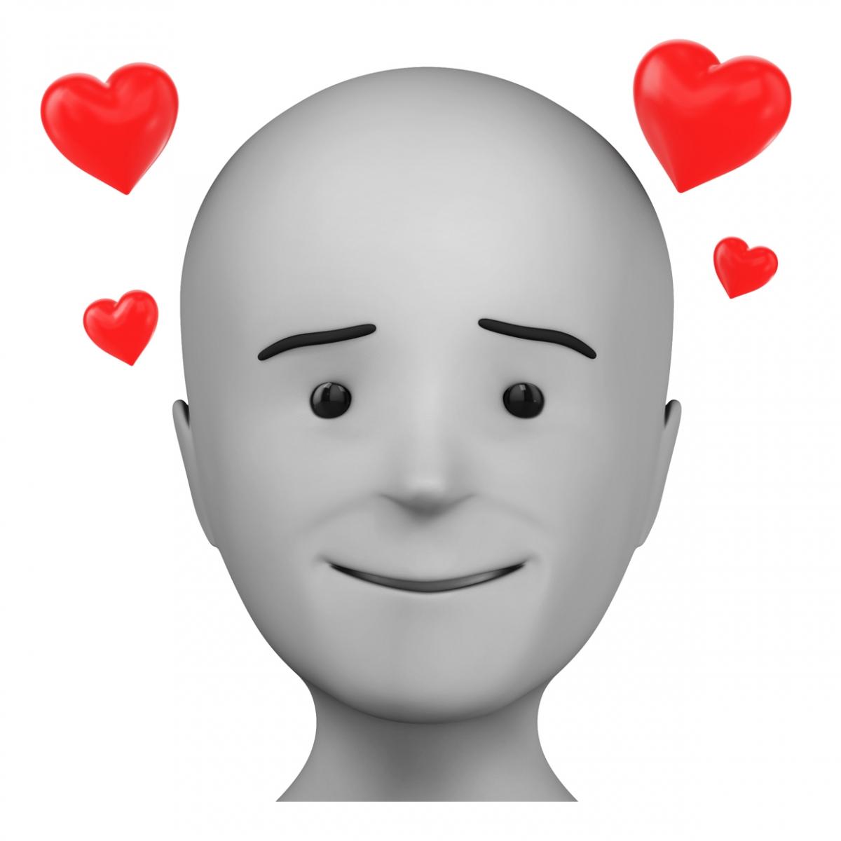 Persona enamorada