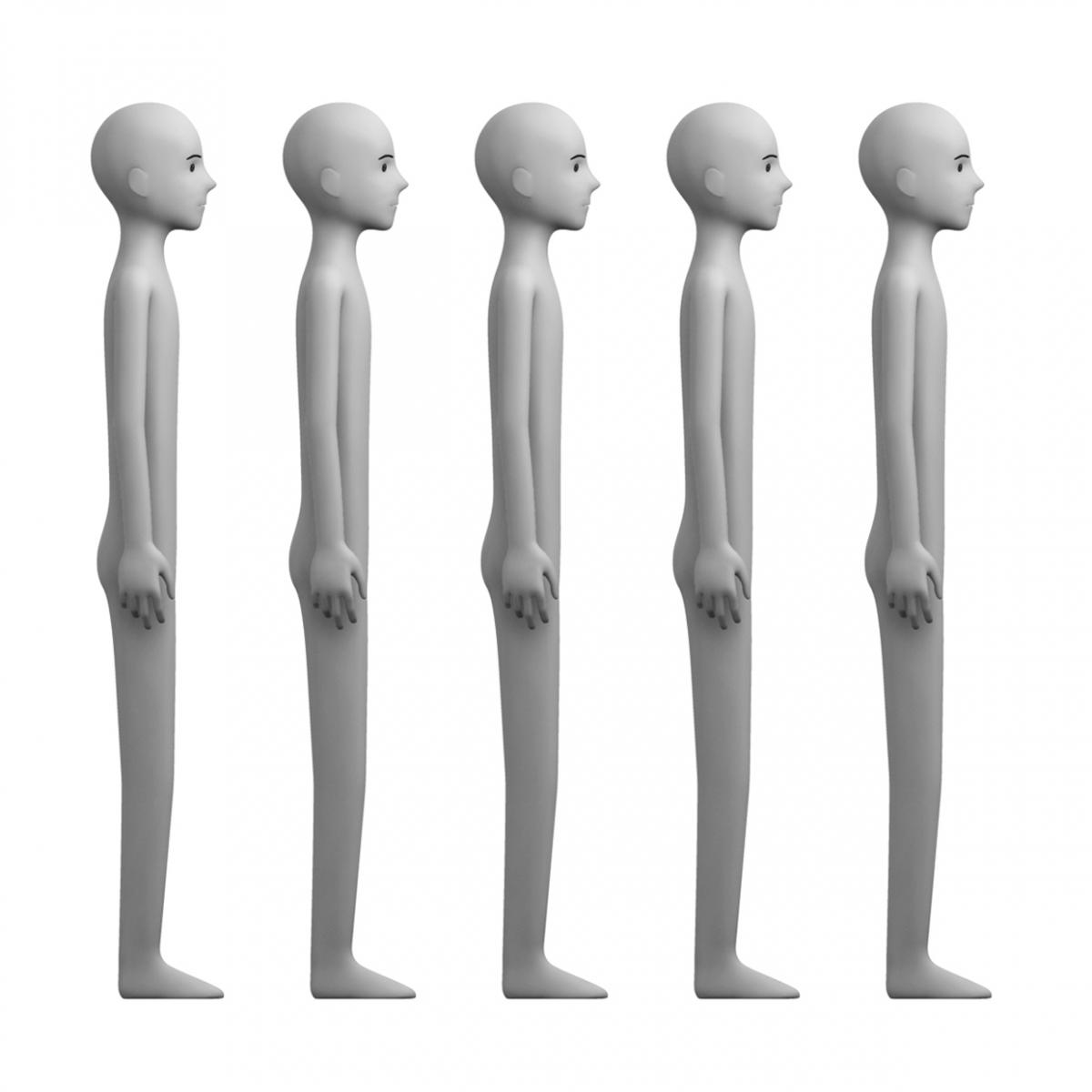Imagen en la que se ve una fila de personas