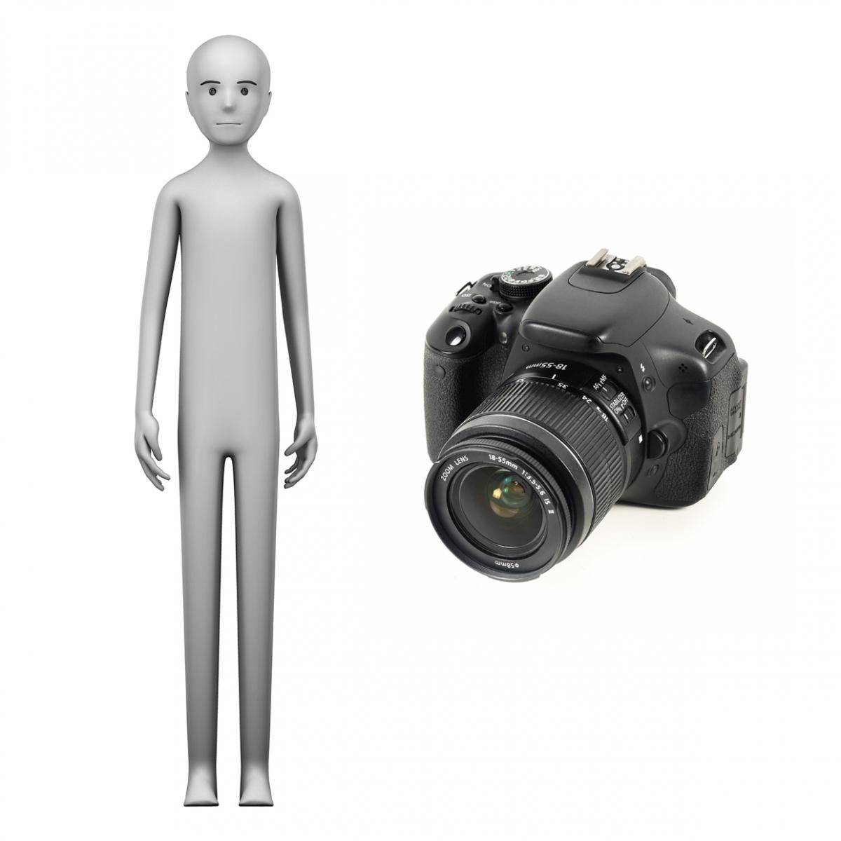 Imagen en la que se ve el concepto de fotógrafo o fotógrafa
