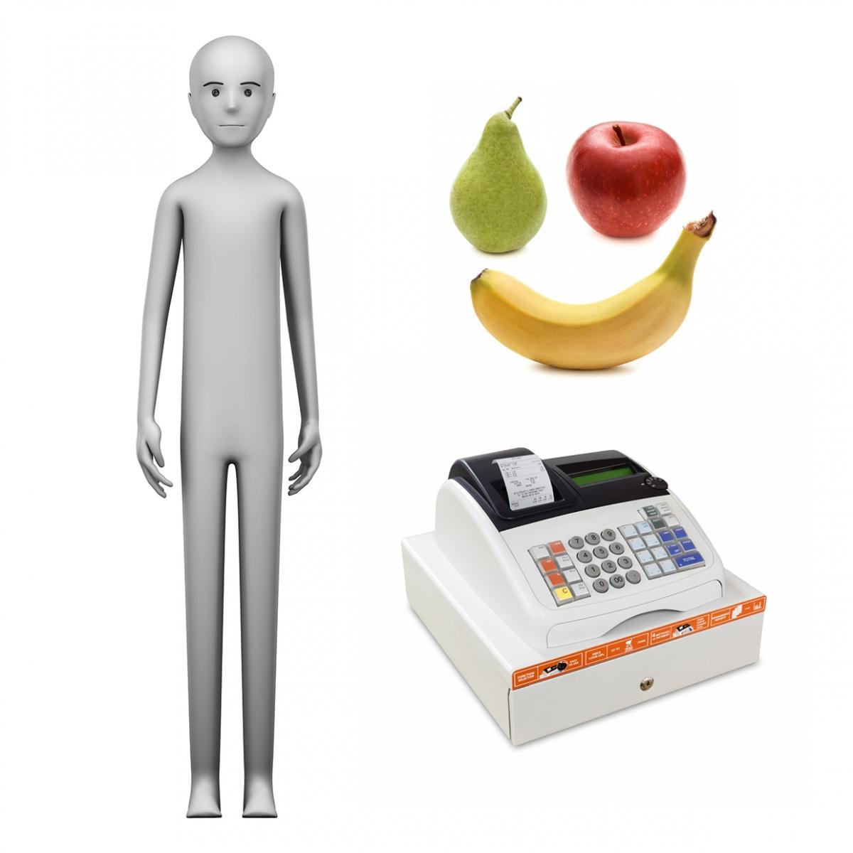 Imagen en la que se ve el concepto de frutero o frutera