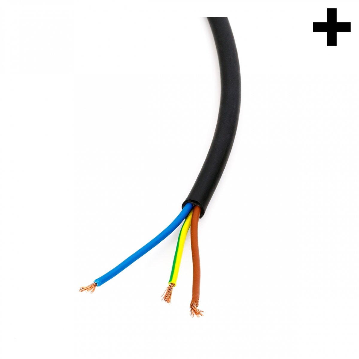 Imagen en la que se ve el plural del concepto cable