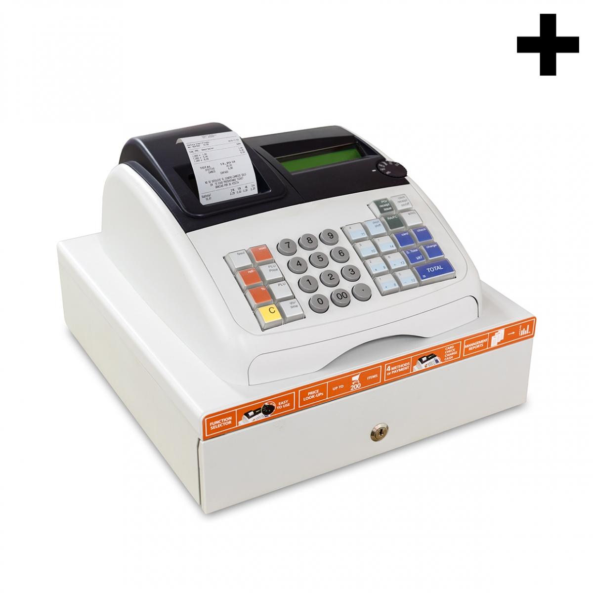 Imagen en la que se ve el plural del concepto caja registradora