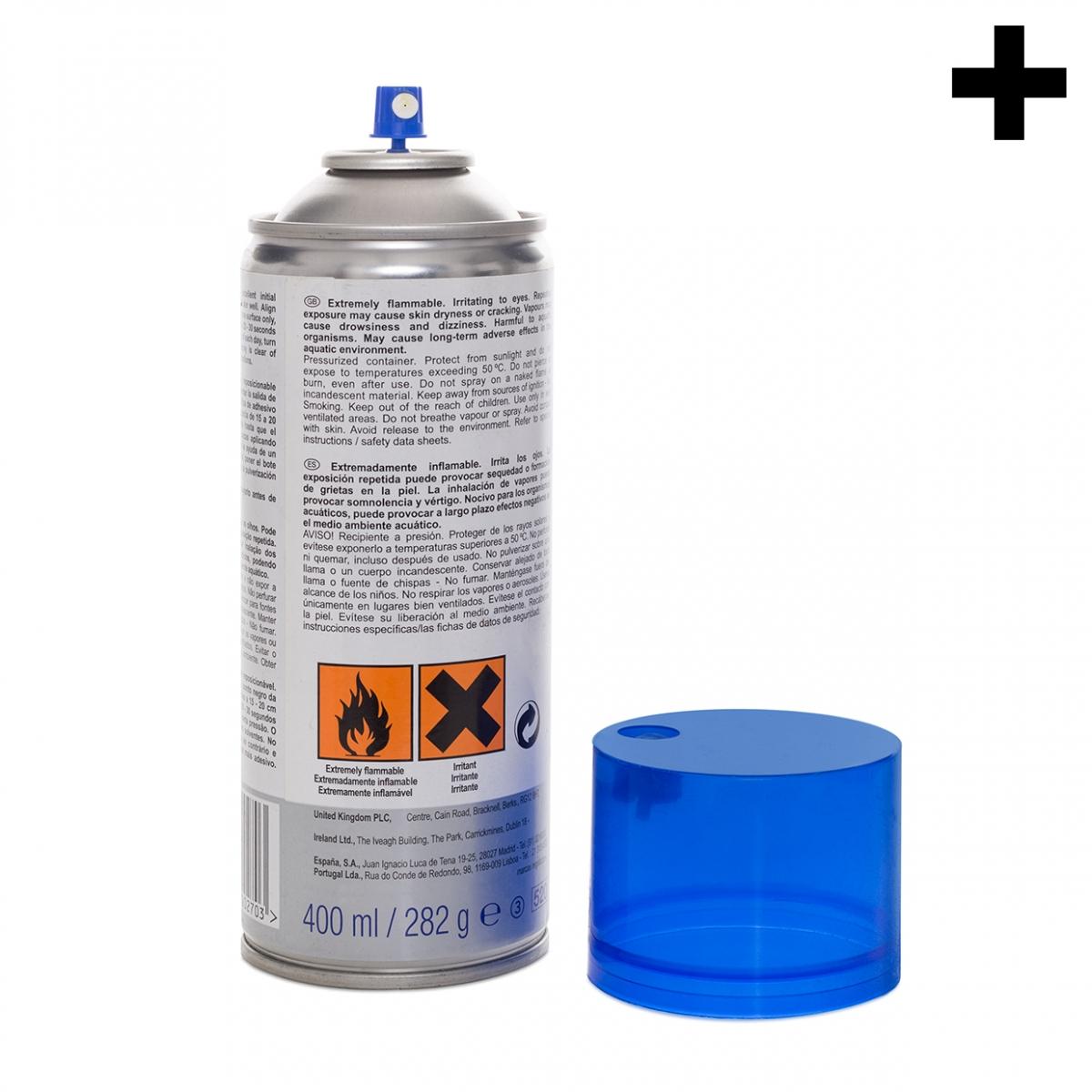 Imagen en la que se ve el plural del concepto spray