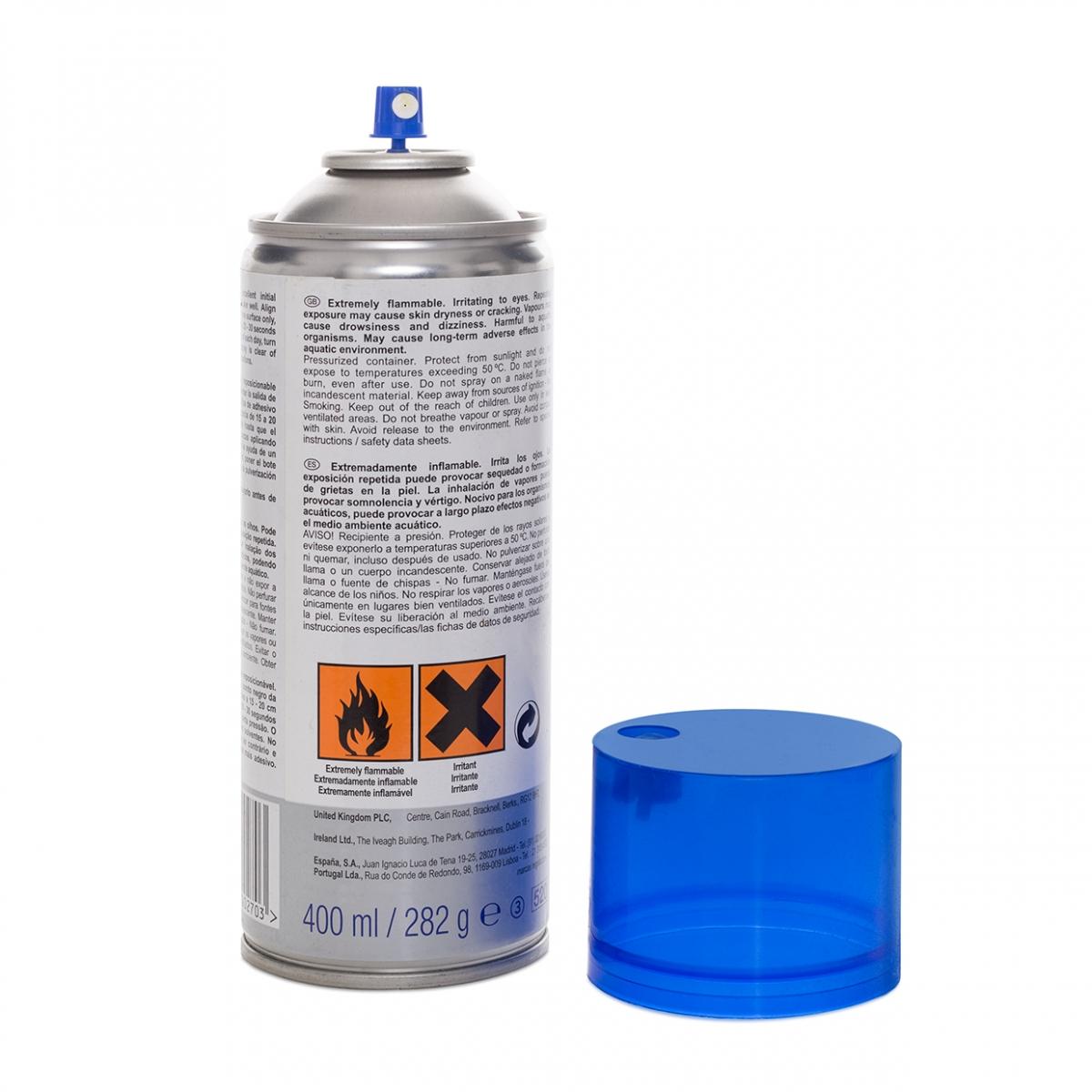 Imagen en la que se ve un spray