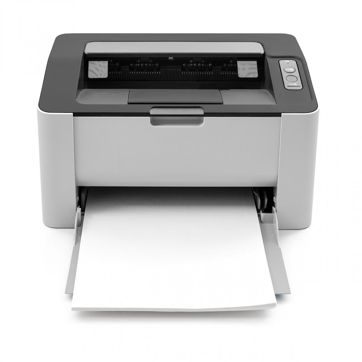 Imagen en la que se ve una impresora