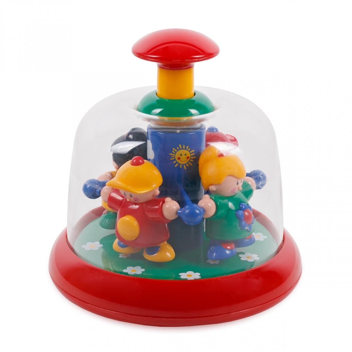 Imagen en la que se ve un juguete girador