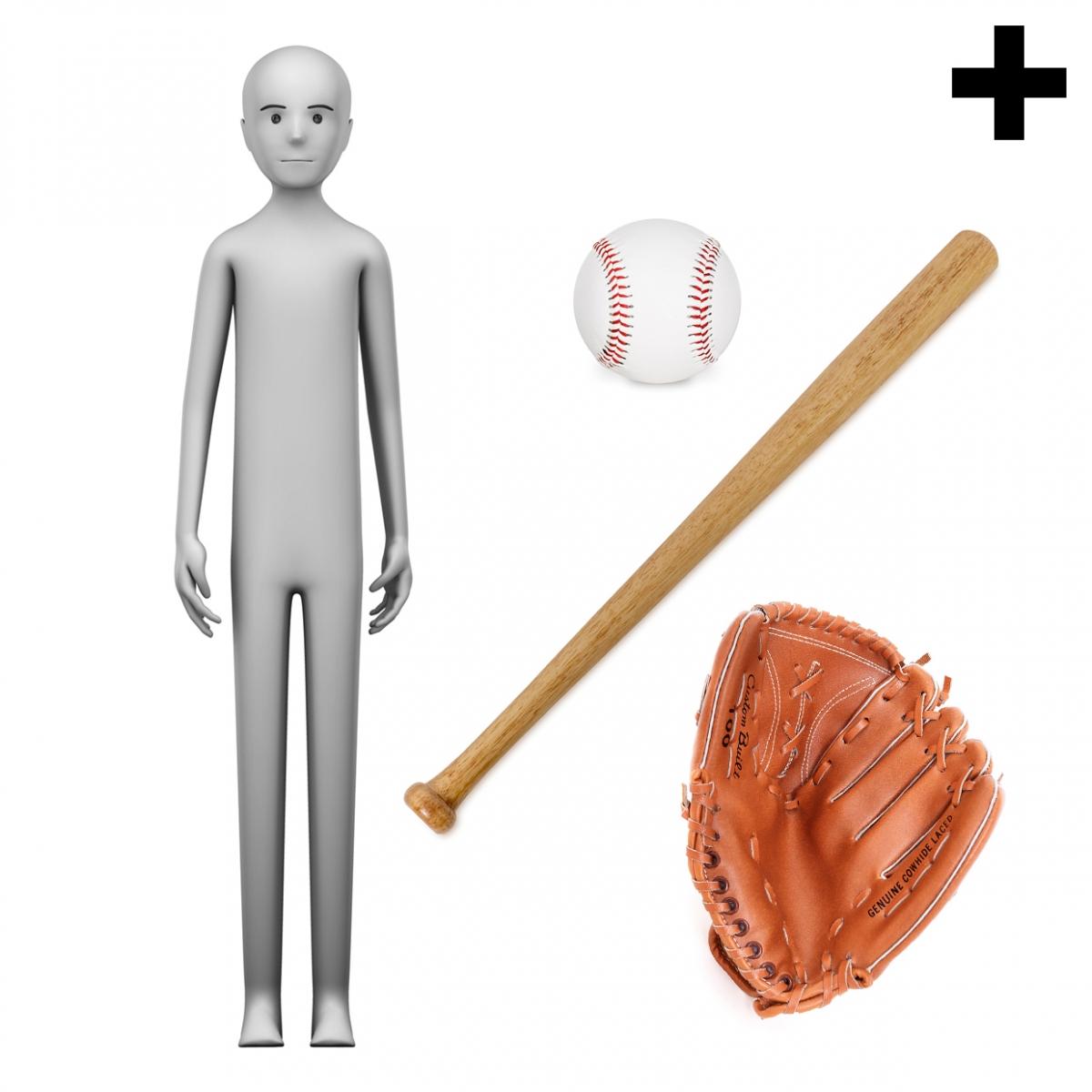Imagen en la que se ve el plural del concepto jugador de béisbol