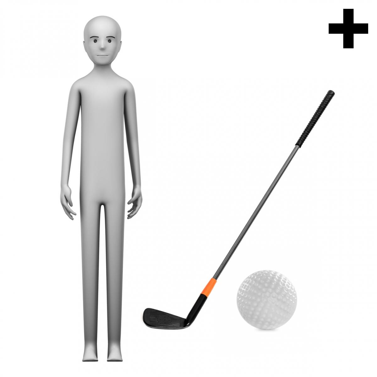 Imagen en la que se ve el plural del concepto jugador de golf