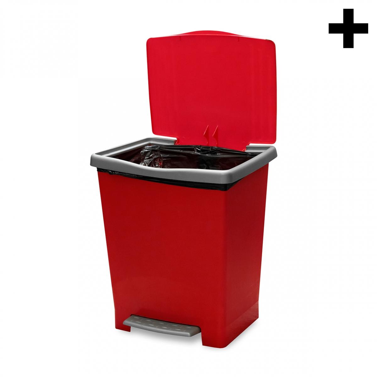 Imagen en la que se ve el plural del concepto cubo de basura