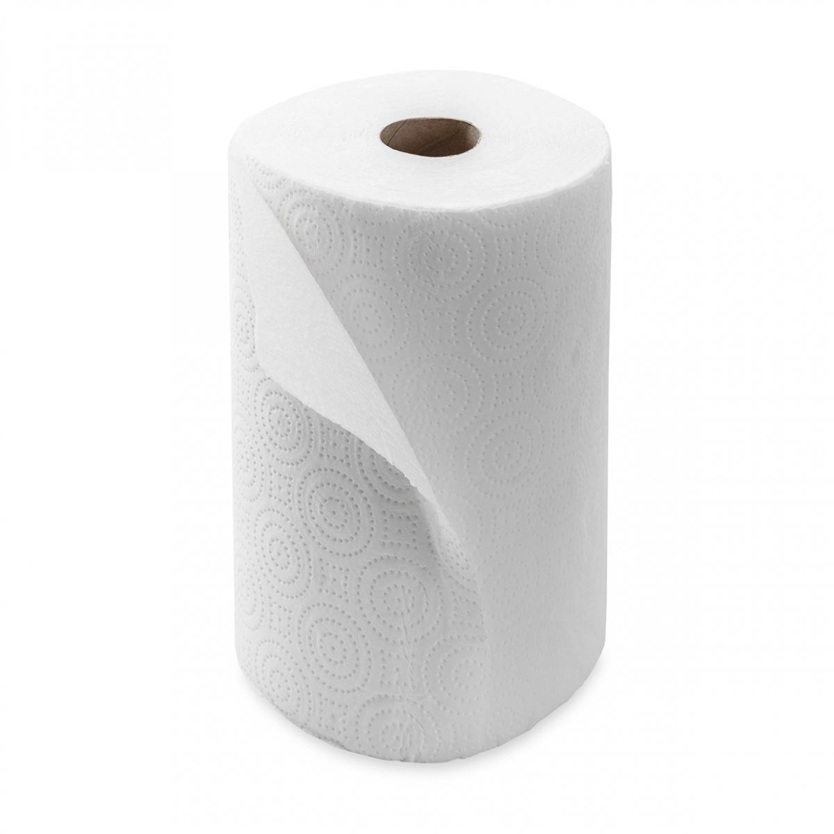Imagen en la que se ve un rollo de papel de cocina