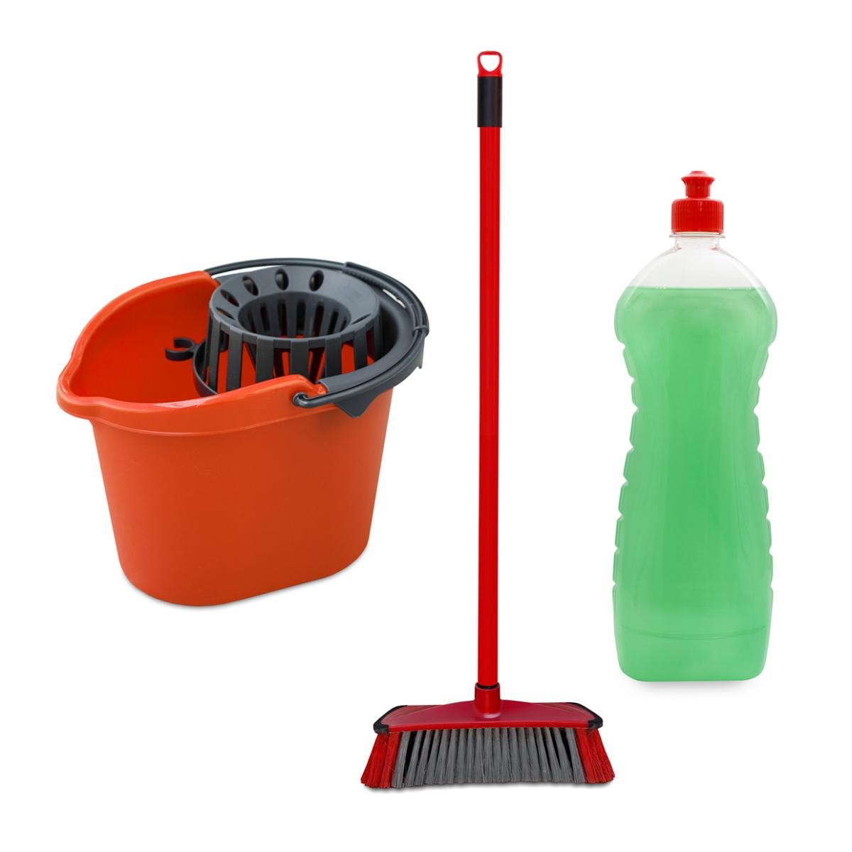 Imagen en la que aparece el concepto genérico de limpieza