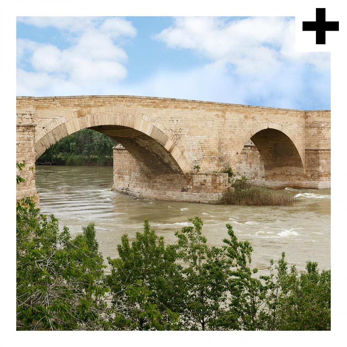 Imagen en la que se ve el plural del concepto puente