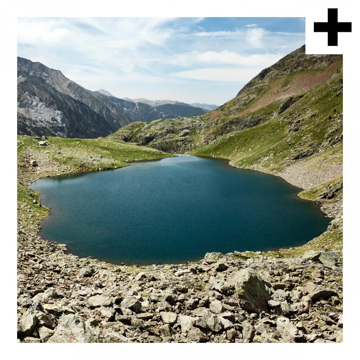 Imagen en la que se ve el plural del concepto lago