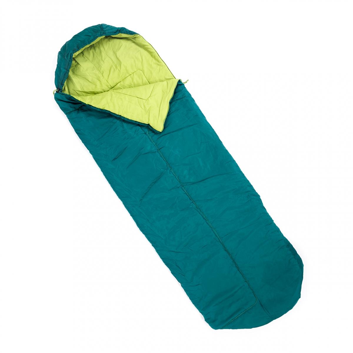 Imagen en la que se ve un saco de dormir
