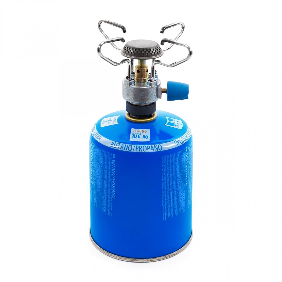Imagen en la que se ve un hornillo de gas