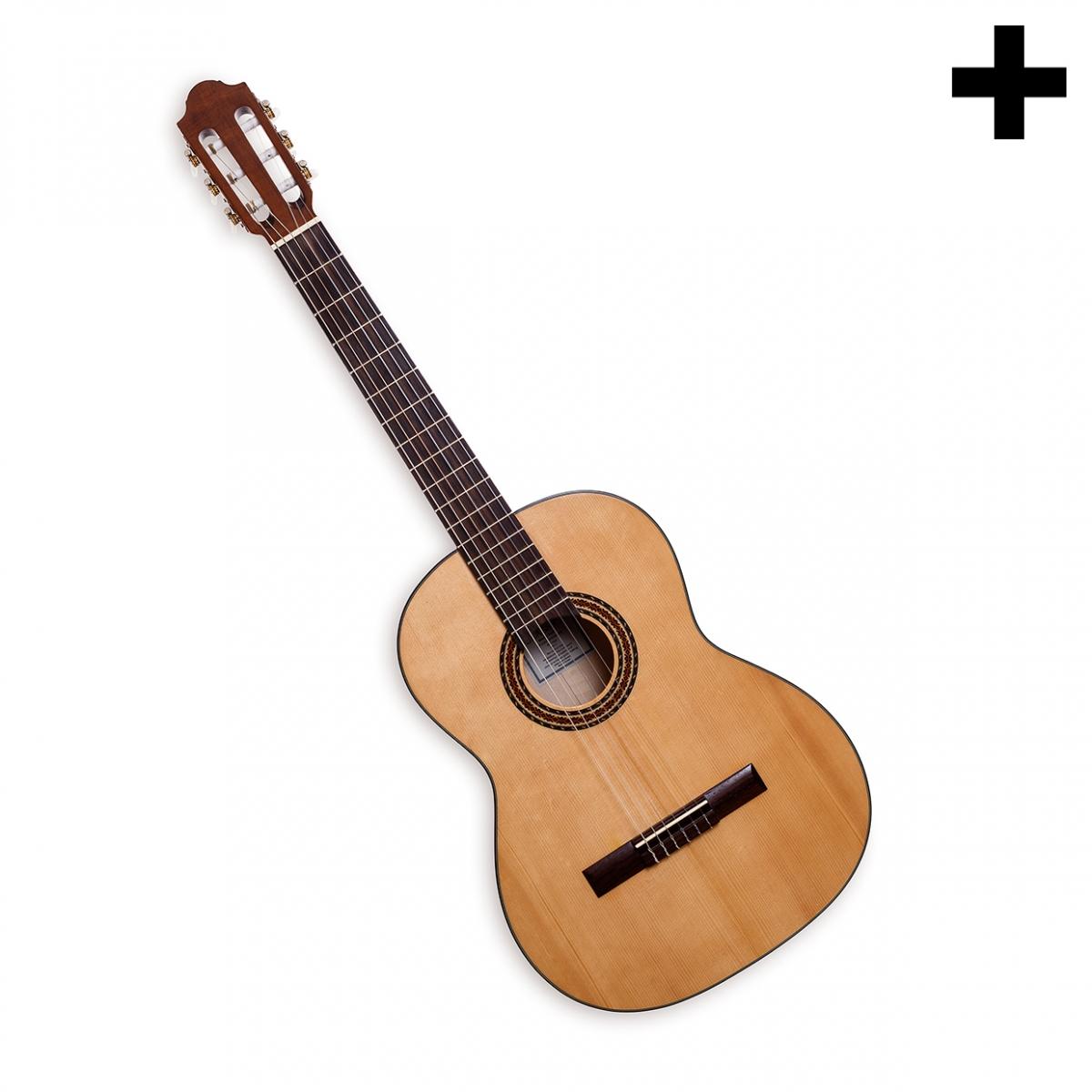 Imagen en la que se ve el plural del concepto guitarra