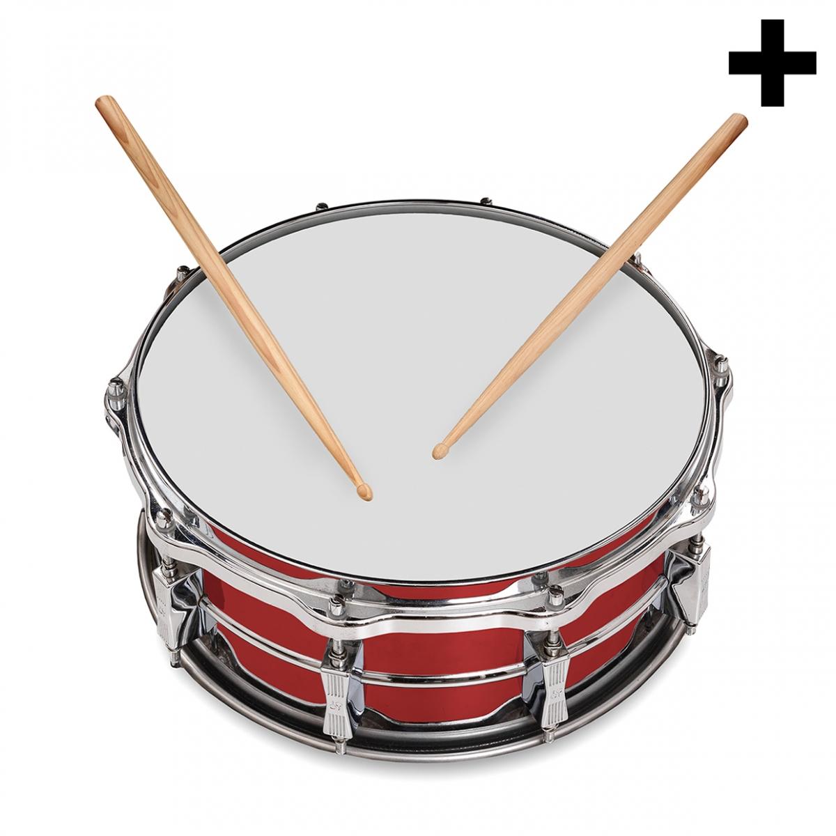 Imagen en la que se ve el plural del concepto tambor