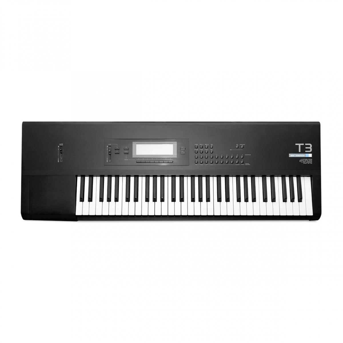 Imagen en la que se ve un teclado electrónico