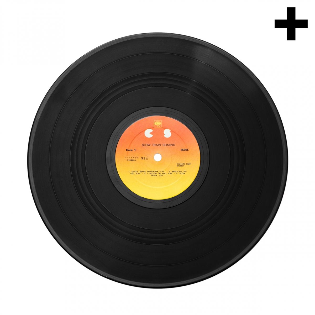 Imagen en la que se ve el plural del concepto disco de vinilo