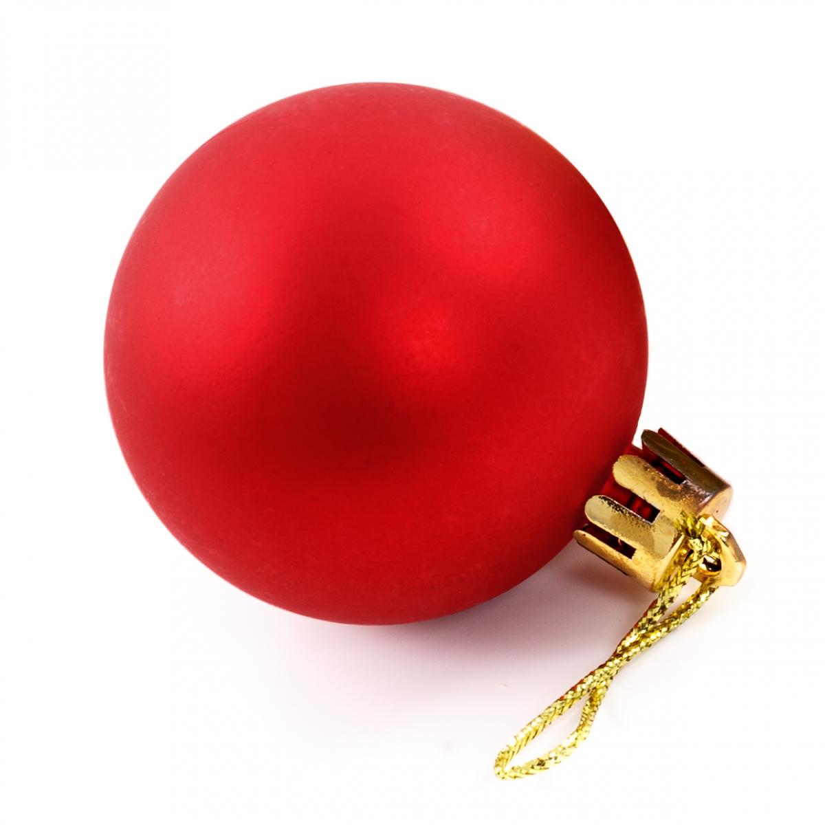 Imagen en la que se ve una bola de Navidad