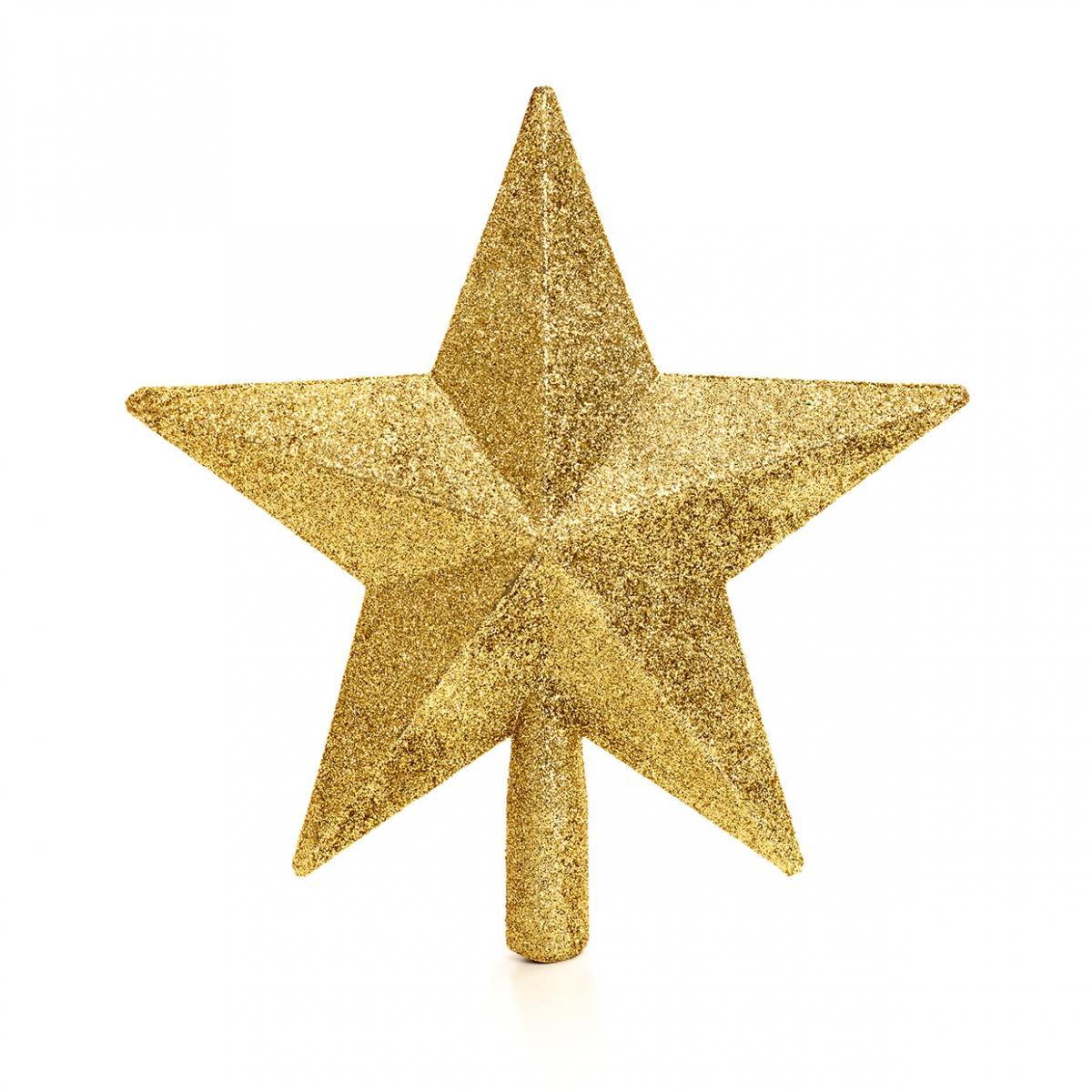 Imagen en la que se ve una estrella de Navidad